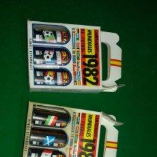 Coleccionismo deportivo: 3 ESTUCHES DE BOTELLINES DE VINOS ESPAÑOLES MUNDIAL 82 (VER FOTOS ). Lote 150097474