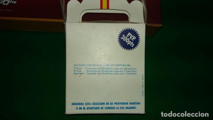 Coleccionismo deportivo: 3 ESTUCHES DE BOTELLINES DE VINOS ESPAÑOLES MUNDIAL 82 (ver fotos ) - Foto 7 - 150097474