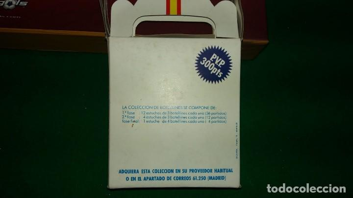 Coleccionismo deportivo: 3 ESTUCHES DE BOTELLINES DE VINOS ESPAÑOLES MUNDIAL 82 (ver fotos ) - Foto 20 - 150097474