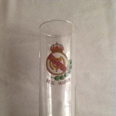 Coleccionismo deportivo: REAL MADRID CF: VASO DE TUBO DEL REAL MADRID C.F.. Lote 150101754