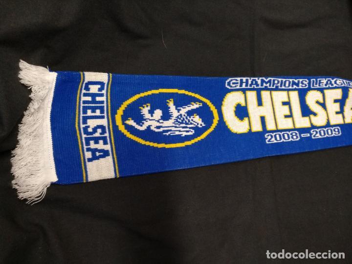 Coleccionismo deportivo  BUFANDA CHELSEA - F.C. BARCELONA - 2008 2009 -  CHAMPIONS LEAGUE - GOL 7db3c5233a8