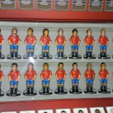 Coleccionismo deportivo: MUÑEQUITOS MINIGOLS SELECCIÓN ESPAÑOLA 2010. Lote 150177256