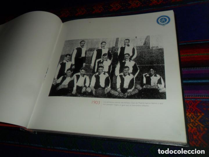 Coleccionismo deportivo: ESCUDO ATLÉTICO DE MADRID PORTAFOTOS SEAT 1500, MONEDERO PIEL, CARTERA PEÑA EUSEBIO REGALO INSTANTES - Foto 10 - 150313918