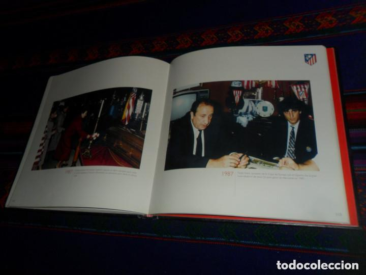 Coleccionismo deportivo: ESCUDO ATLÉTICO DE MADRID PORTAFOTOS SEAT 1500, MONEDERO PIEL, CARTERA PEÑA EUSEBIO REGALO INSTANTES - Foto 11 - 150313918