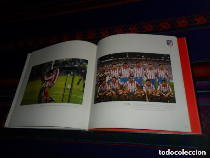 Coleccionismo deportivo: ESCUDO ATLÉTICO DE MADRID PORTAFOTOS SEAT 1500, MONEDERO PIEL, CARTERA PEÑA EUSEBIO REGALO INSTANTES - Foto 12 - 150313918