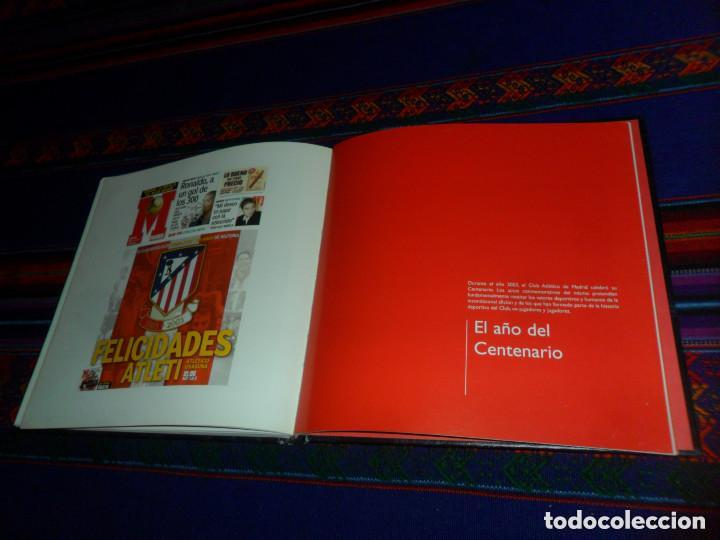 Coleccionismo deportivo: ESCUDO ATLÉTICO DE MADRID PORTAFOTOS SEAT 1500, MONEDERO PIEL, CARTERA PEÑA EUSEBIO REGALO INSTANTES - Foto 13 - 150313918