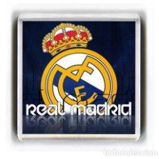 Coleccionismo deportivo: IMAN ACRILICO NEVERA - FUTBOL REAL MADRID. Lote 150704514