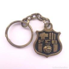 Coleccionismo deportivo: LLAVERO FCB BARÇA. ESCUDO FUTBOL CLUB BARCELONA. AÑOS 80.. Lote 150751038