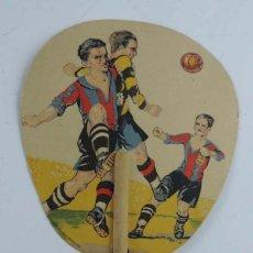 Coleccionismo deportivo: ANTIGUO PAY PAY DEL FUTBOL CLUB BARCELONA, REVERSO CON PUBLICIDAD DE FRUTERIA REAL LUIS ROJO, MADRID. Lote 211407949