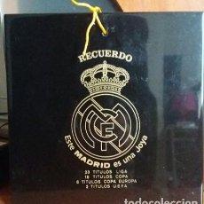 Coleccionismo deportivo: AZULEJO DECORATIVO REAL MADRID. Lote 151706666