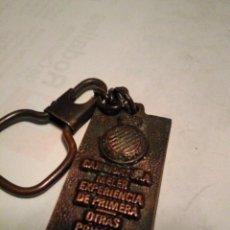 Coleccionismo deportivo: LLAVERO REAL CLUB DEPORTIVO ESPANYOL ESPAÑOL CANDIDATURA MELER. Lote 151881677