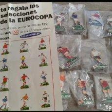 Coleccionismo deportivo: MUÑ-ECOS DE LAS 16 SELECCIONES DE LA EUROCOPA. Lote 152219118