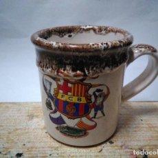 Coleccionismo deportivo: TAZA EN CERAMICA F.C. BARCELONA . Lote 152576338