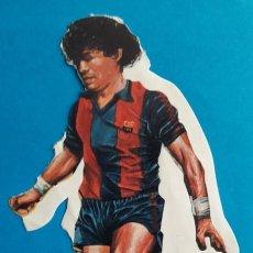 Collectionnisme sportif: ANTIGUO ADHESIVO. PEGATINA. DIEGO A. MARADONA. FC BARCELONA. BARÇA. AÑOS 80.. Lote 152698050