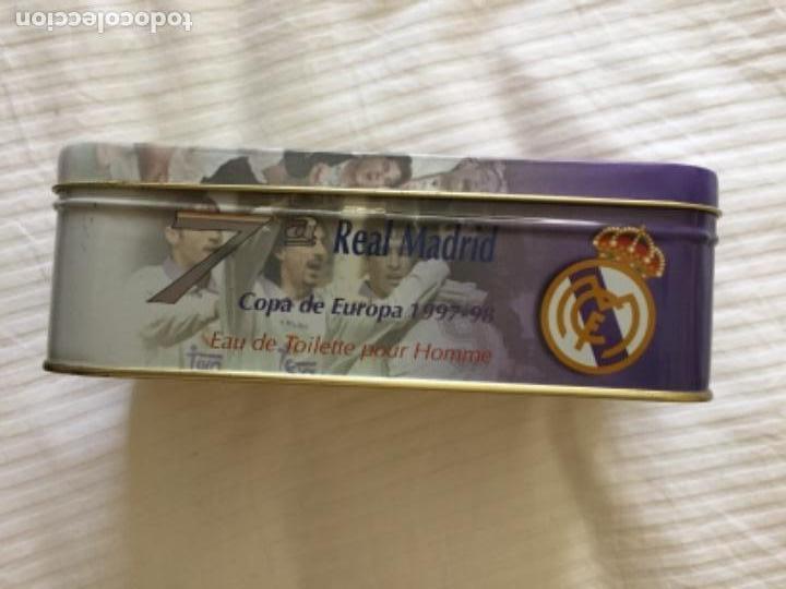 Coleccionismo deportivo: Real madrid lata vacía la 7° 1997 1998 - Foto 2 - 153197546