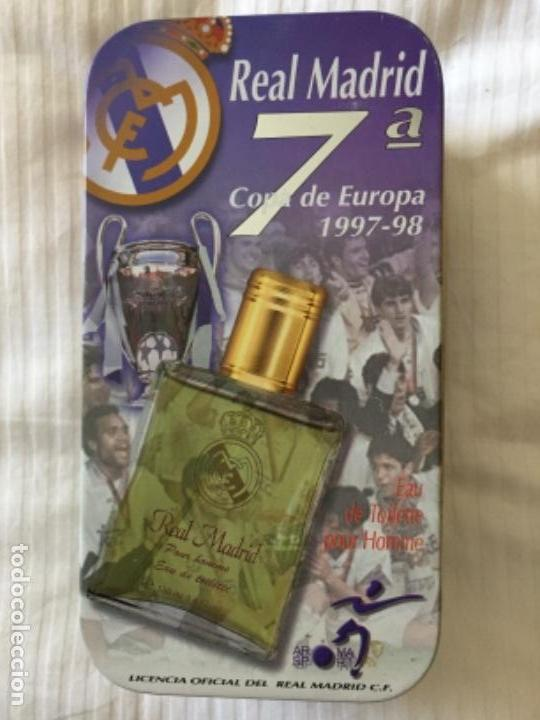 REAL MADRID LATA VACÍA LA 7° 1997 1998 (Coleccionismo Deportivo - Merchandising y Mascotas - Futbol)