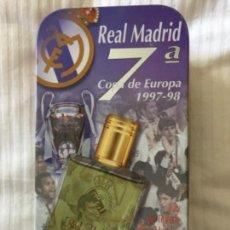 Coleccionismo deportivo: REAL MADRID LATA VACÍA LA 7° 1997 1998. Lote 153197546