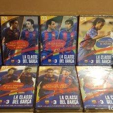 Coleccionismo deportivo: LA CLASSE DEL BARÇA / COLECCIÓN COMPLETA 10 DVD / TODOS PRECINTADOS / OCASIÓN !!. Lote 153298126