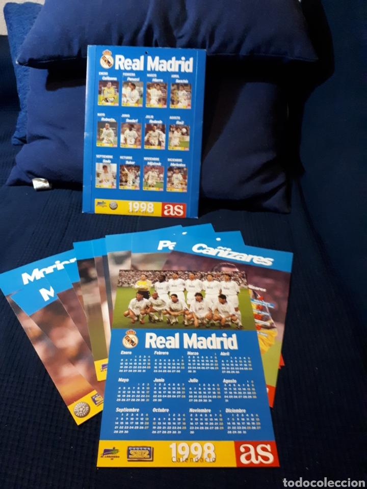 Calendario Real Madrid.Calendario Real Madrid As 1998 Completo