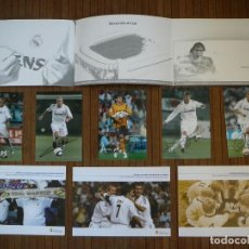 Coleccionismo deportivo: CARPETA CARNET MADRIDISTA. REAL MADRID TEMPORADA 2005-2006. CASILLAS, BECKHAM, RONALDO, GUTI, ZIDANE. Lote 153733442