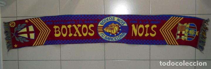 Bufanda scarf fútbol ultras fc barcelona boixos nois supporters antigua  football vintage - España - Bufanda c3a0885e8c2