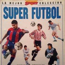Coleccionismo deportivo: ARCHIVADOR O CARPESANO - LA MEJOR - SPORT - COLECCION SUPER FUTBOL - LIGA 96 - SIN FICHAS -. Lote 153840822