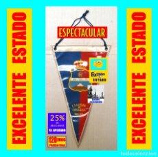 Coleccionismo deportivo: REAL UNIÓN DE TENERIFE - R.U.T. - BANDERÍN DE CAMPEÓN DE CANARIAS 1961 - 1962 - ÚNICO - EXCELENTE. Lote 154506706