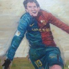 Coleccionismo deportivo: LEO MESSI FC BARCELONA (PRODUCCIÓN UNICA ). Lote 154736094
