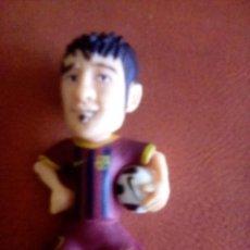 Coleccionismo deportivo: VESIV MUÑECO F.C. BARCELONA DAVID VILLA I 6 CM DE ALTO . Lote 154968138