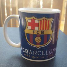 Coleccionismo deportivo: TAZA FC. BARCELONA MÉS QUE UN CLUB - PRODUCTO OFICIAL. Lote 155265462