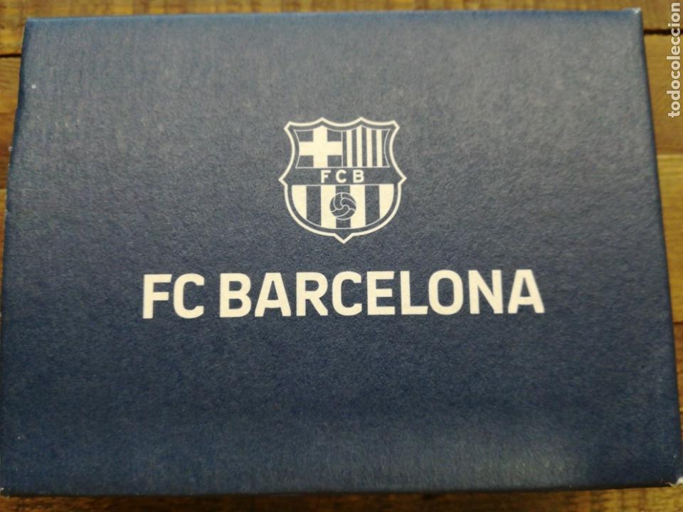 Coleccionismo deportivo: PORTA TARJETAS DE PIEL FC BARCELONA - Foto 2 - 151686526
