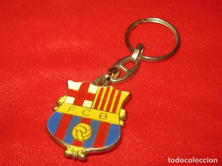 LLAVERO FUTBOL CLUB BARCELONA CAMP NOU (Coleccionismo Deportivo - Merchandising y Mascotas - Futbol)