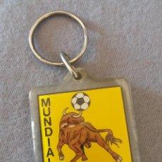 Coleccionismo deportivo: LLAVERO DE ESPAÑA DEL MUNDIAL 1982 FÚTBOL. Lote 155956438