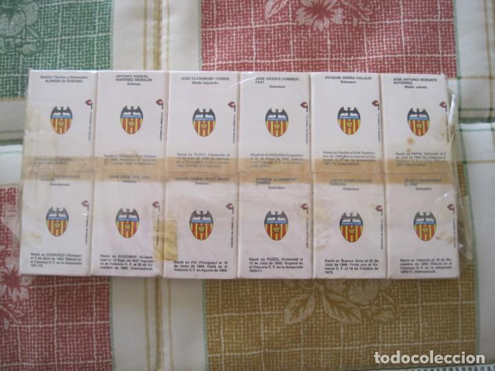 Coleccionismo deportivo: CAJAS DE CERILLAS VALENCIA C. F. TEMPORADA 1971-72 VERVDESCRIPCION - Foto 3 - 155959258