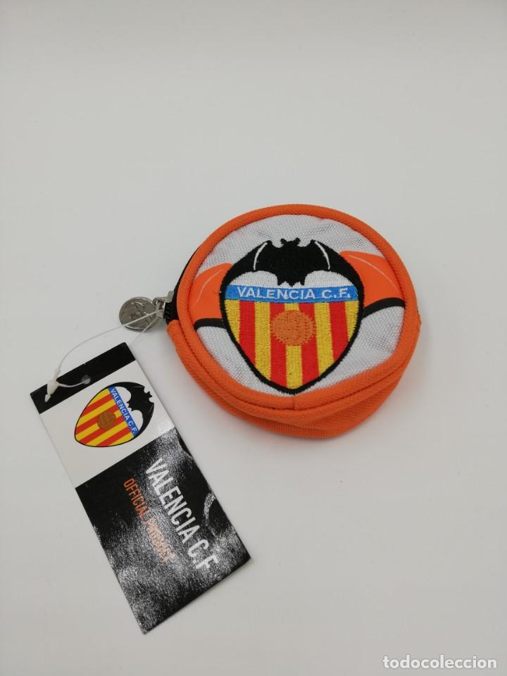 MONEDERO VALENCIA C.F. NUEVO (Coleccionismo Deportivo - Merchandising y Mascotas - Futbol)