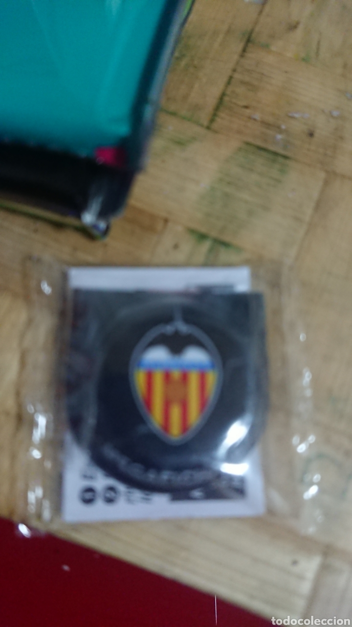 CHAPA FÚTBOL PRECINTADA GREFUSA MEGAFICHAJE VALENCIA CF (Coleccionismo Deportivo - Merchandising y Mascotas - Futbol)