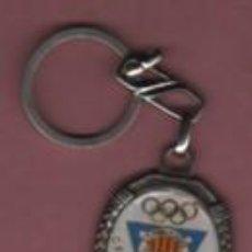 Coleccionismo deportivo: INTERESANTE LLAVERO DE FUTBOL - CF PUBILLA CASAS. Lote 156636102