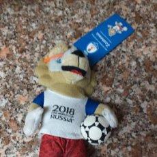 Coleccionismo deportivo: PELUCHE MASCOTA 2018 RUSSIA ZAVIBAKA . Lote 156665246