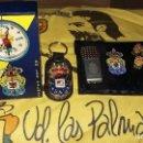 Coleccionismo deportivo: 11, UNION DEPORTIVA LAS PALMAS, LOTE 11 PIEZAS. Lote 156741426