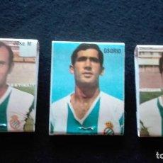 Coleccionismo deportivo: CERILLAS JUGADORES R.C.D ESPAÑOL. Lote 156997446