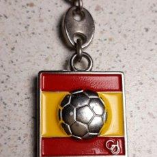 Coleccionismo deportivo: LLAVERO OFICIAL DEL MUNDIAL DE FUTBOL ESPAÑA 82 RFEF GOLDORSO (3). Lote 157827138