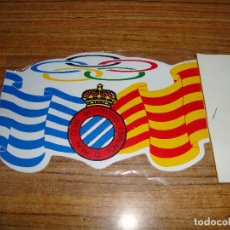 Collectionnisme sportif: PEGATINA REAL CLUB DEPORTIVO ESPAÑOL. Lote 158191122