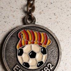 Coleccionismo deportivo: LLAVERO DEL MUNDIAL DE FUTBOL ESPAÑA 82 SEDE BARCELONA SAGRADA FAMILIA (3). Lote 158338680