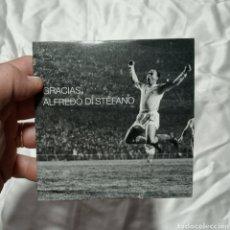 Coleccionismo deportivo: DVD GRACIAS ALFREDO DI STEFANO REAL MADRID CONMEMORATIVO. Lote 159256821