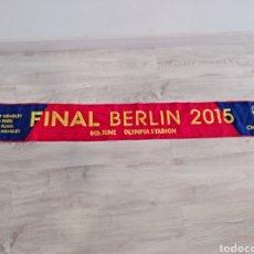 Coleccionismo deportivo: BUFANDA SCARF FINAL CHAMPIONS LEAGUE 2015 BERLIN FUTBOL CLUB BARCELONA. Lote 160471865