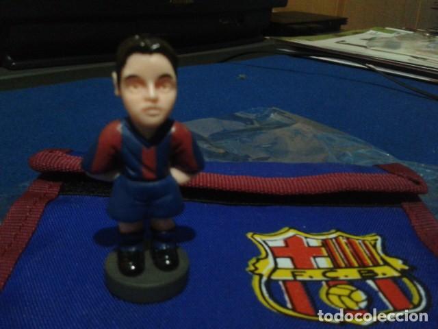 FIGURA F.C. BRCELONA ( XAVI HERNANDEZ ) DE 5´5 CM DE ALTURA (Coleccionismo Deportivo - Merchandising y Mascotas - Futbol)