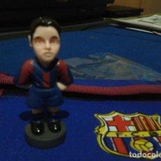 Coleccionismo deportivo: FIGURA F.C. BRCELONA ( XAVI HERNANDEZ ) DE 5´5 CM DE ALTURA. Lote 160515138