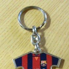 Coleccionismo deportivo: LLAVERO FUTBOL FC BARCELONA CAMISETA KEYRING FOOTBALL BARÇA. Lote 160674274