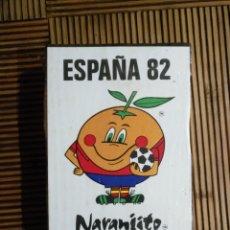 Coleccionismo deportivo: 8 CAJAS CERILLAS NARANJITO CON ERROR TABLA DOS COLORES( PRECINTADO ) FUTBOL MUNDIAL 1982 , ESPAÑA 82. Lote 161023522