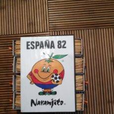 Coleccionismo deportivo: 8 CAJAS CERILLAS NARANJITO , MUNDIAL 82 ESPAÑA 1982 FÚTBOL. Lote 161024193